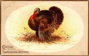 Thanksgiving With Turkey 1908