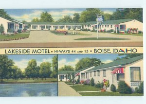 Linen MOTEL SCENE Boise Idaho ID AD9762