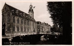 CPA Leiden- Rapenburg met Academie. NETHERLANDS (714094)