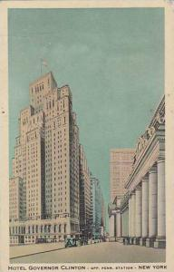 Hotel Governor Clinton, Opp. Penn. Station, New York City, New York, PU-1941
