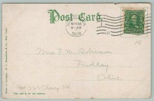 Norfolk Virginia~Atlantic Hotel & Main Street~Dry Goods Store~Shoppers~1908