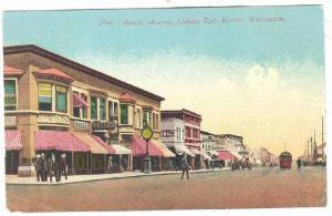 Hewitt Avenue, Looking East, Drugs Store/Pharmacy, Everett, Washington, 1900-...