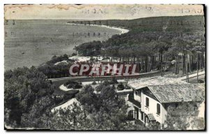 Postcard Old Pilat Plage The cornice