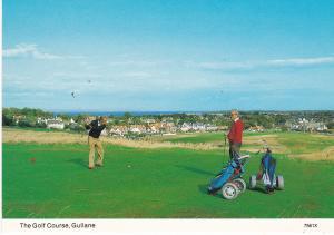 Post Card Scotland East Lothian  GULLANE  The Golf Course Hail Caledonia