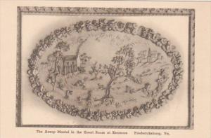 Virginia Fredericksburg Kenmore Aesop Mantel In The Great Room Albertype