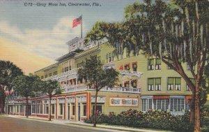 Florida Clearwater Gray Moss Inn 1945 Curteich sk4454