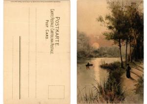 CPA Fur stille Stunden Meissner & Buch Litho Serie 1266 (730613)