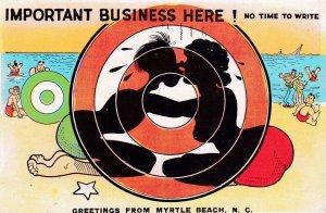 MYRTLE BEACH , South Carolina , 1930-40s ; Sea & Beach comic #5