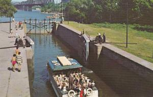 Rideau Locks on Ottawa River - Ottawa ON, Ontario, Canada