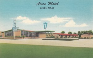 ALVIN , Texas , 1930-40s ; Alvin Motel