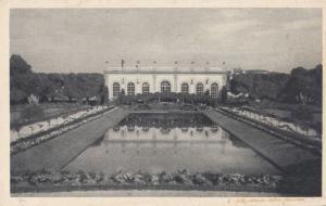 L'Orengerie Du Jardin Francais Moet & Chandon Antique Advertising Postcard