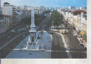 Postal 014103: Avenida de la Libertad en Lisboa, Portugal