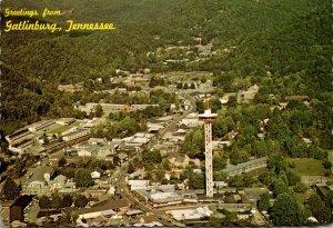 Tennessee Gatlingurg Aerial View