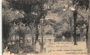 Algeria Interieur du Square Bresson Postcard