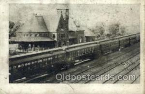 Niles, MI, Michigan, USA Train Railroad Station Depot Post Card Post Card  Ni...