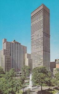Dominion Square Park, Sheraton Laurentien Hotel and the Imperial Bank of Comm...