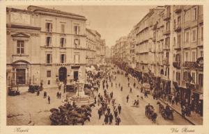 NAPOLI, Via Roma, Campania, Italy, 10-20s