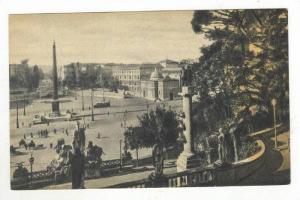 Piazza Del Popolo, Roma, Lazio, Italy, 1900-1910s