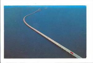 Sunshine Skyway, spectacular Bridge, St. Petersburg, Florida, 40-60s