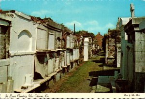 Louisiana New Orleans St Louis Cemetery Above Ground Vaults