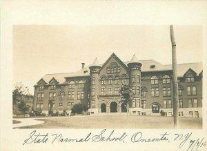 Oneonta New York State Normal School 1916 RPPC Photo Postcard 21-5976