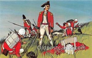 Battle of Bunker Hill, June 17, 1775 Boston, Massachusetts USA Postcard Post ...