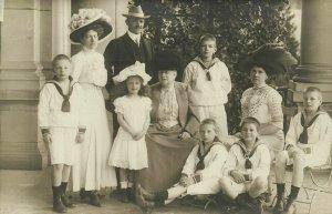 russia, Grand Duchess Vera Konstantinovna with Children and Grandchildren 1910s