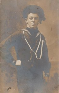 RP: Young Sailor in uniform, PU-1906