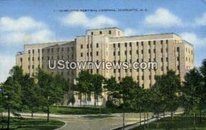 Charlotte Memorial Hospital Charlotte NC Unused