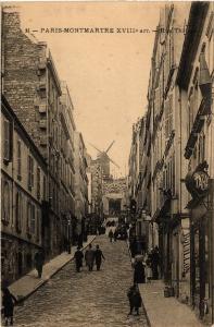 CPA PARIS (18e) Montmartre. Rue Tholoze. (538061)
