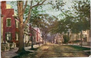 Upper Main Street, Nantucket, Pub by H. L. Wyer Vintage Postcard Y03