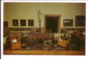 Pilgrim Hall, Furniture, Museum of Pilgrim Treasures, Plymouth, Massachusetts...