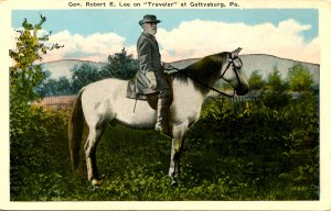 Gen. Robert E. Lee on Traveler  (Confederate)