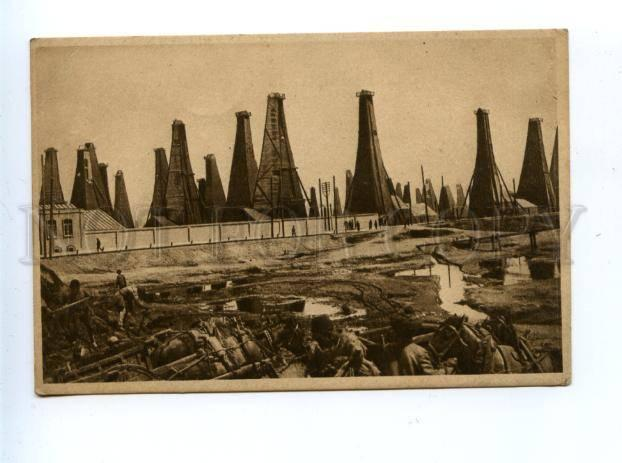 159707 Azerbaijan BAKU Bakou petroleum oil field Bibi Heybat