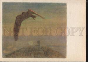 101599 ART NOUVEAU Fairy Tale by CIURLIONIS old RARE PC