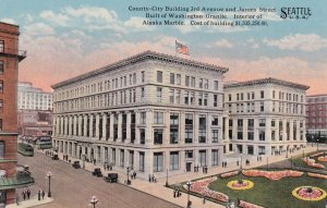 SEATTLE, Washington, 00-10s; County-City Building 3rd Avenue & James Street