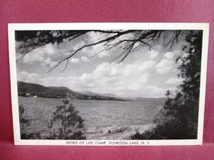 Postcard NY Schroon Lake Word of Life Camp