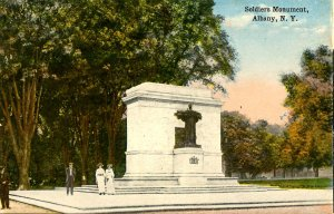 NY - Albany. Soldiers Monument
