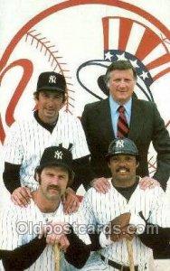 George Steinbrenner, Billy Martin, Reggie Jackson, Thurman Munson Baseball, U...