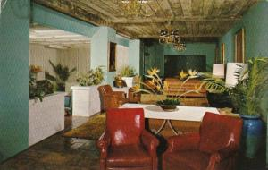 California Palm Springs Marion Davies' Desert Inn Guest Lobby The SPanis...