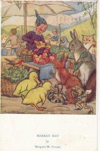 Margaret TARRANT : Market Day , 1957
