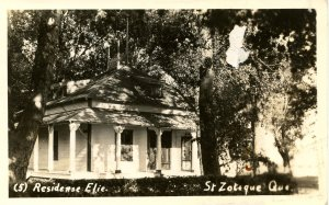 Canada - Quebec, St Zotique. Residence Elie.   *RPPC