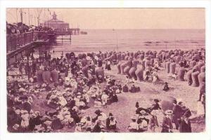 Strand Met Wandelhoofd, Scheveningen (South Holland), Netherlands, 1900-1910s