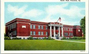 1920s Butler High School Princeton Kentucky Postcard