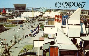Canada - Quebec, Montreal. Expo 67 General View on Ile Notre Dame