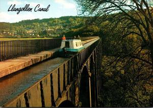 Wales Llangollen Canal Pontcysyllte Aqueduct