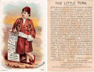 Victorian Trade Card Approx size inches = 3.25 x 5.25 Pre 1900 creases