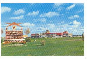 Airport exterior , Gander , Newfoundland , Canada , 40-60s