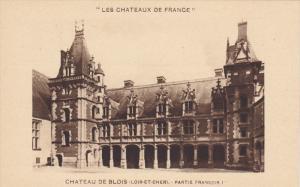 CHATEAU DE BLOIS, Loir Et Cher, France, 1900-1910´s; Les Chateaux De France,...