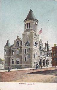 Maine Augusta Post Office 1905